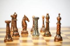 Игра комплекта шахмат Стоковые Изображения RF