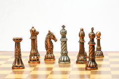 Игра комплекта шахмат Стоковые Фотографии RF