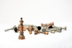 Игра комплекта шахмат Стоковая Фотография