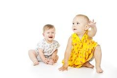 Игра красивейших детей стоковые фотографии rf