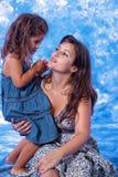игра мати дочи Стоковая Фотография