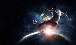 Игра мира популярная и полюбленная Мультимедиа Стоковое Изображение