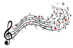 игра музыкальных примечаний аппаратур дара бесплатная иллюстрация