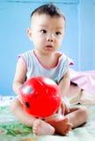Игра младенца Стоковые Фотографии RF