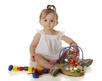Игра младенца стоковая фотография