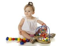 Игра младенца стоковые изображения rf