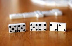 Игра домино Стоковое Изображение