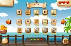 Игра пирата бесплатная иллюстрация