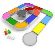 игра плашек Стоковая Фотография RF