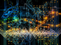 Игра потока информации Стоковая Фотография RF