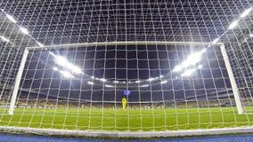 Игра премьер-лиги Украины между FC Dynamo Kyiv и Olimpic Стоковые Фото