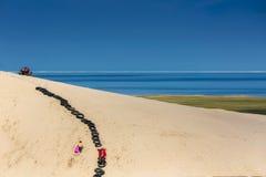 Игра пляжа праздника Стоковая Фотография