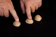 Игра раковины Стоковое Фото