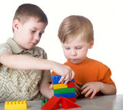 игра ребенка Стоковое Фото