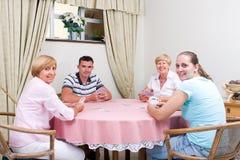 игра семьи Стоковая Фотография RF