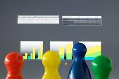 Игра соединяет представление Стоковые Изображения RF