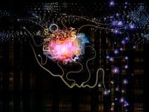 Игра сознавания машины Стоковое Изображение RF