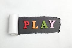 Игра слов Стоковое Фото