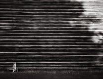 Игра с тенями Стоковое Фото