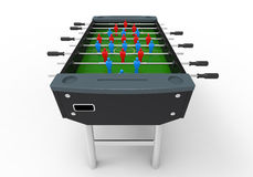 Игра таблицы футбола Foosball Стоковая Фотография RF