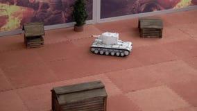 Игра танка RC сток-видео