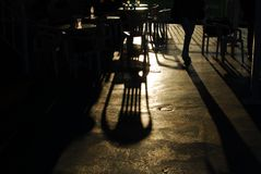 игра тени Стоковые Изображения