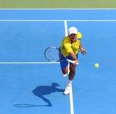 Игра Украина v Австрия тенниса Davis Cup Стоковая Фотография RF