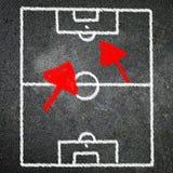 Игра футбола на классн классном Стоковые Изображения RF