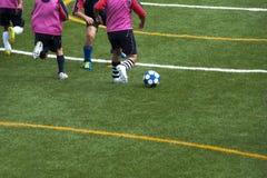 Игра футбола Стоковая Фотография