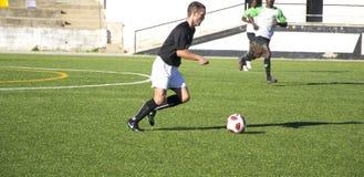Игра футбола Стоковое фото RF