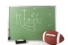 игра футбола chalkboard Стоковые Изображения RF
