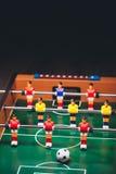 Игра футбола футбола таблицы & x28; kicker& x29; Стоковая Фотография RF
