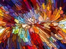 Игра цветного стекла Стоковая Фотография