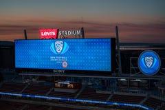 2016 игра чемпионата NCAA - стадион ` s Левия Стоковые Изображения RF