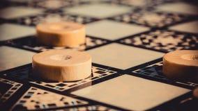 Игра шахматной доски Стоковые Изображения RF