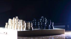 Игра шахмат Абстрактный состав диаграмм шахмат Стоковая Фотография