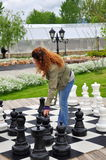 игра шахмат Стоковая Фотография RF