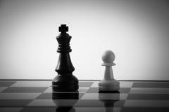 Игра шахмат Стоковые Изображения RF