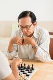 Игра шахмат Стоковое фото RF