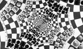 игра шахмат multi Стоковое фото RF