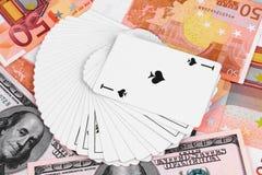 Игра для денег Стоковая Фотография RF