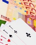 Игра для денег Стоковые Фотографии RF