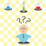 Игра для детей - ученый порции Стоковые Фотографии RF