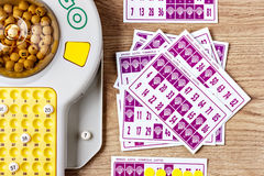 Игра Bingo стоковые изображения