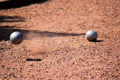игра boule Стоковое Изображение RF