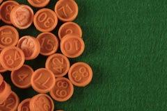 Игра tombala bingo Lotto играя в азартные игры Стоковое фото RF