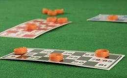 Игра tombala bingo Lotto играя в азартные игры Стоковые Фотографии RF