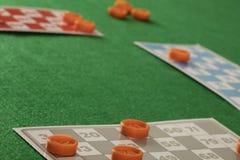 Игра tombala bingo Lotto играя в азартные игры Стоковое Фото