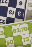 Игра tombala bingo Lotto играя в азартные игры Стоковая Фотография RF