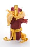игристое вино подарка бутылки Стоковое Изображение RF